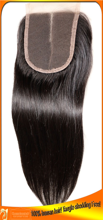 Qualified Peruvian Virgin Human Hair Straight Top Lace Closures Manufacturer,Free Shipping,Bleached Knots