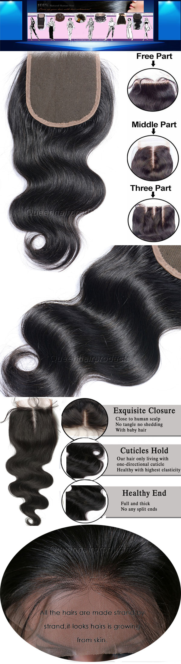 indian lace closures