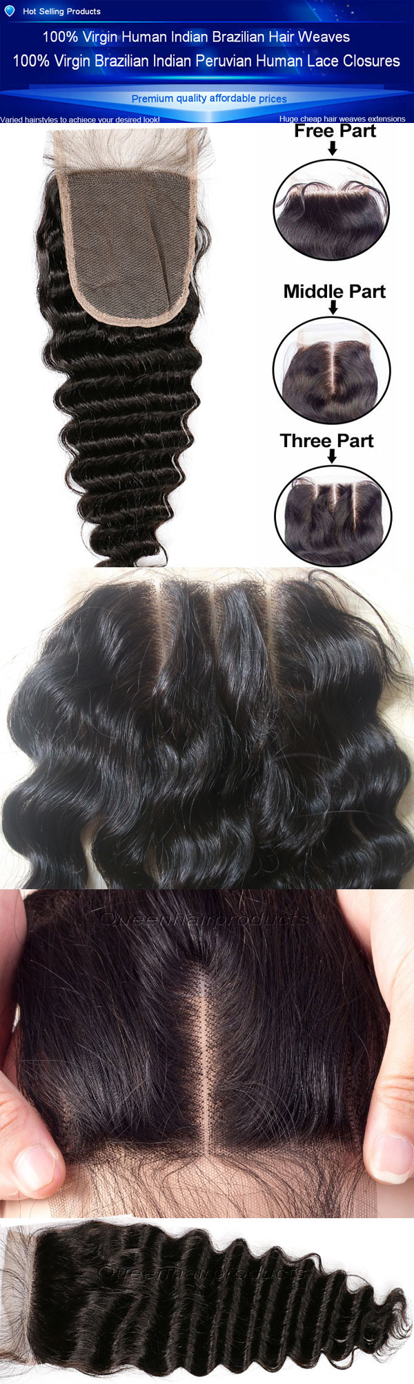 How To Minimize Shedding Of Human Hair Lace Closures