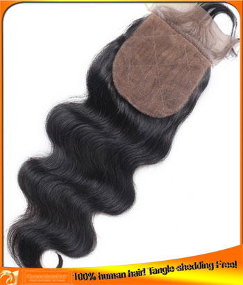 Human Hair Indain Remy Silk Base Lace Top Closures Manufacturer,Cheap Price