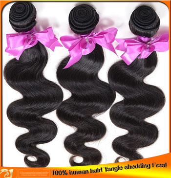Brazilian Virgin Body Wave Human Hair Weaves