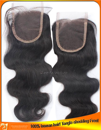 Peruvian Human Hair Lace Top Closures,Factory Price Supplier,Bleached Knots