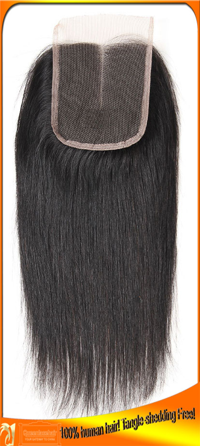 Free Shipping Indian Virgin Remy Straight Top Quality Lace Closure,Cheap Price