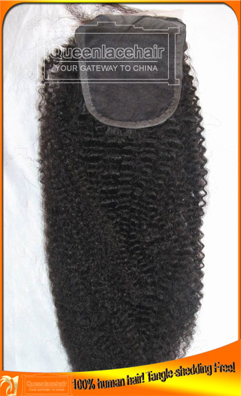 Virgin Indian Hair Top Closure,Free,Middle,3 Parts