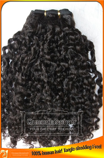 Tight Curly Indian Remy Hair Weaves,Good Price