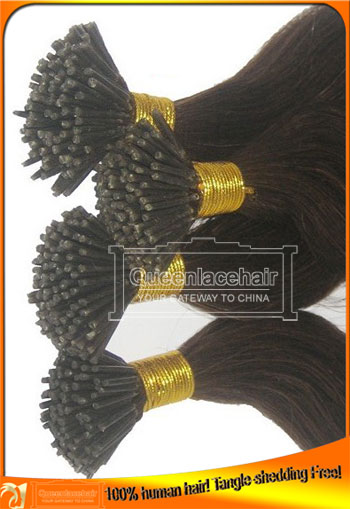 Indian Virgin I U V Pre Tipped Human Hair Extensions Supplier