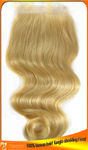 Blonde Lace Top Closures