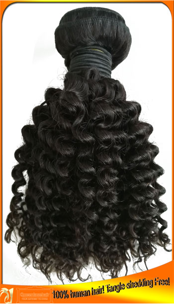 Brazilian Kinky Curly Human Hair Bundles Manufacturer